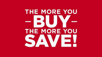 Kohl's TV Spot, 'The More You Buy, the More You Save'