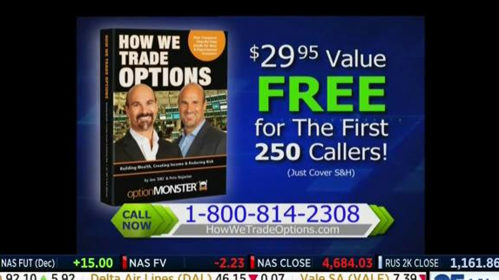 How we trade options by jon najarian