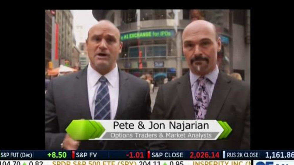 Options trading pete