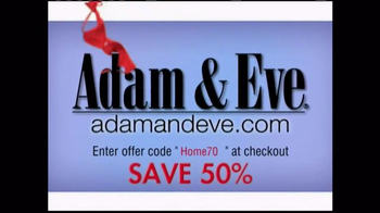Adam & Eve 50% Off and Free Gift TV Spot, 'Let the Clothes Fly'