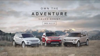 Land Rover: Own the Adventure Sales Event