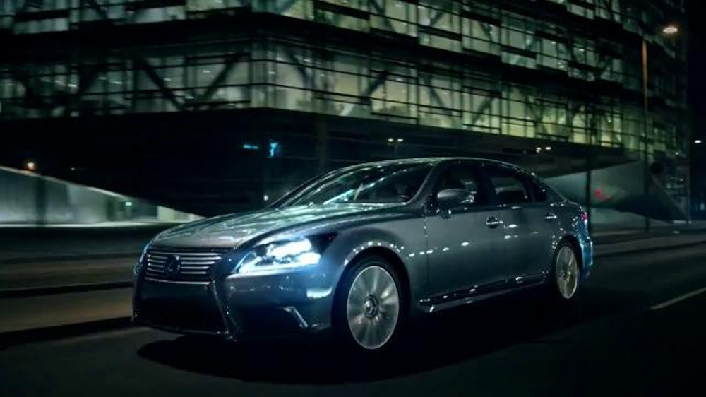 2015 lexus ls tv commercial 39 luxury uncompromised 39. Black Bedroom Furniture Sets. Home Design Ideas