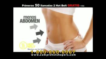 Hot Shapers Hot Belt TV Spot, 'Resoluciones de Año Nuevo' [Spanish]