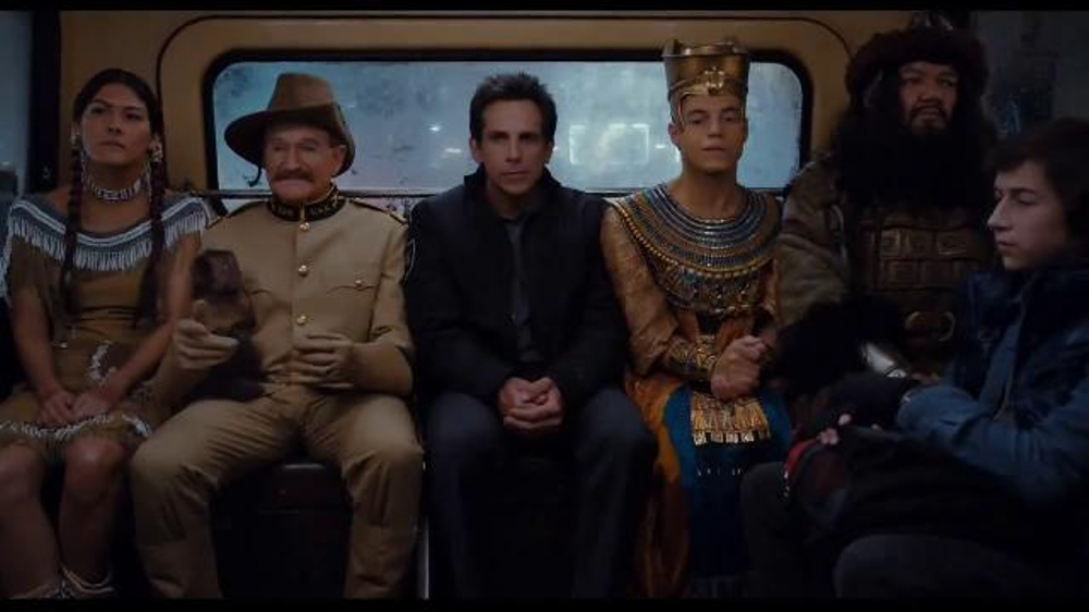Night at the Museum: Secret of the Tomb Blu-ray TV Spot thumbnail