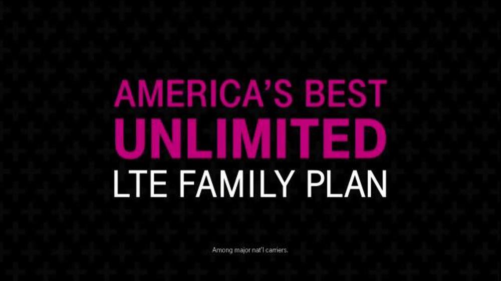 T-Mobile Unlimited LTE Family Plan TV Spot, 'Break Free' thumbnail