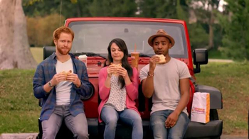 Dunkin' Donuts Spicy Omelet Flatbread TV Spot, 'You Speak Spanish?' thumbnail