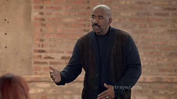 Strayer University TV Spot, 'A to Z' Featuring Steve Harvey thumbnail
