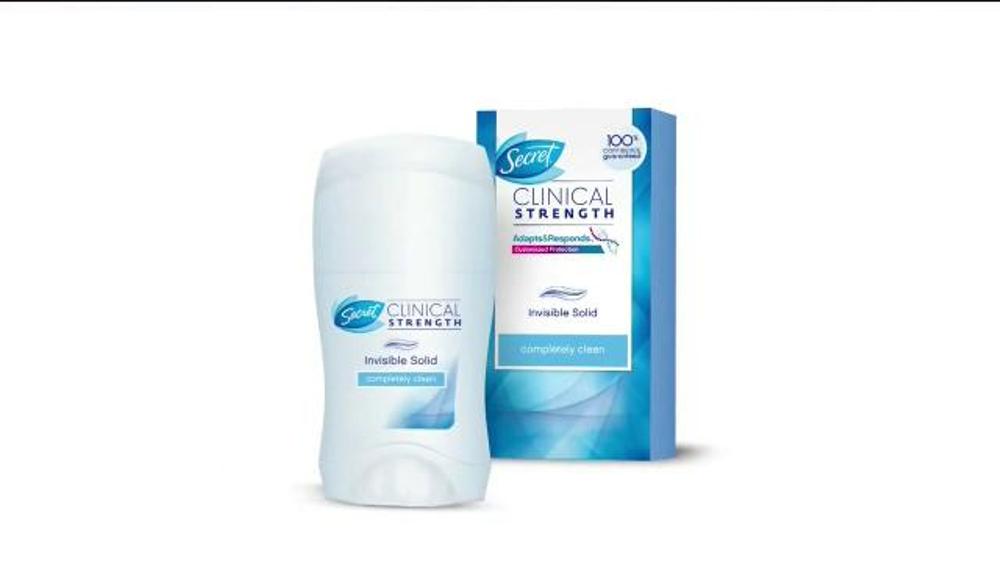 Secret Clinical Strength Deodorant TV Commercial, 'A ...