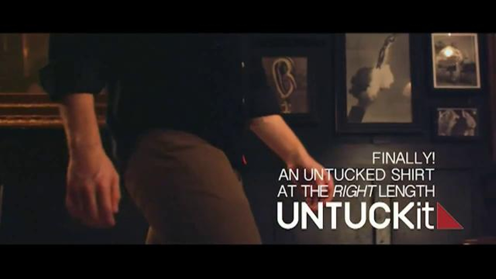Untuckit Tv Commercial 39 Shirts Designed To Be Worn