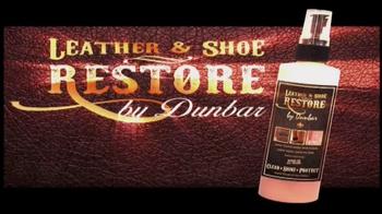 Dunbar Leather & Shoe Restore TV Spot, 'Clean Up the Mess'