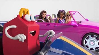 McDonald's Happy Meal TV Spot, 'Barbie: Car Race' thumbnail
