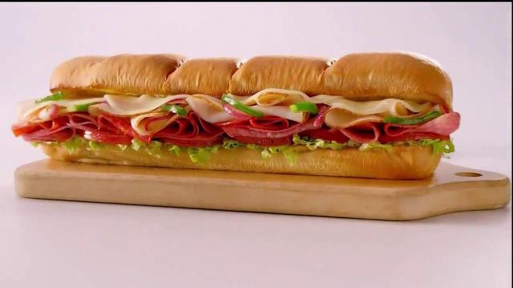 Subway Turkey Italiano Melt TV Spot, 'This is a Sandwich'