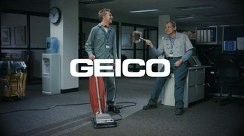 GEICO TV Spot, 'Cleaning Crew: Unskippable' thumbnail