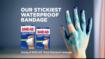 Band-Aid Tough-Strips TV Spot