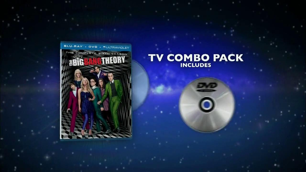 Big Bang Theory Season 6 Blu-ray Combo Pack TV Spot - Screenshot 10