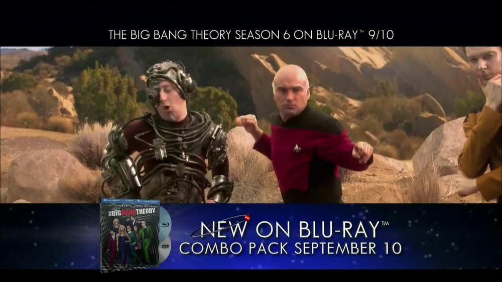 Big Bang Theory Season 6 Blu-ray Combo Pack TV Spot - Screenshot 2