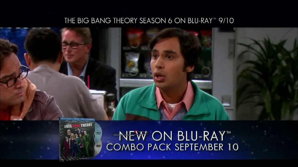 Big Bang Theory Season 6 Blu-ray Combo Pack TV Spot - Screenshot 3