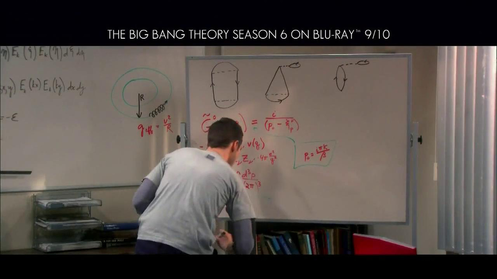 Big Bang Theory Season 6 Blu-ray Combo Pack TV Spot - Screenshot 4