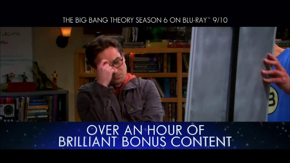 Big Bang Theory Season 6 Blu-ray Combo Pack TV Spot - Screenshot 5