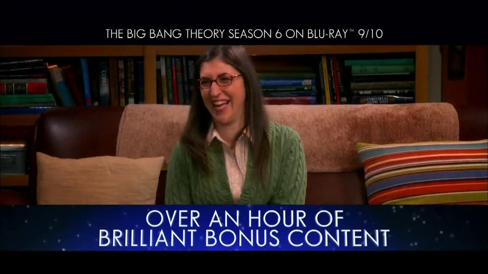 Big Bang Theory Season 6 Blu-ray Combo Pack TV Spot - Screenshot 6