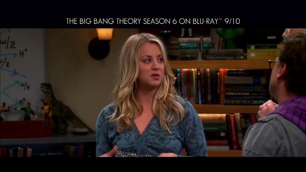 Big Bang Theory Season 6 Blu-ray Combo Pack TV Spot - Screenshot 7