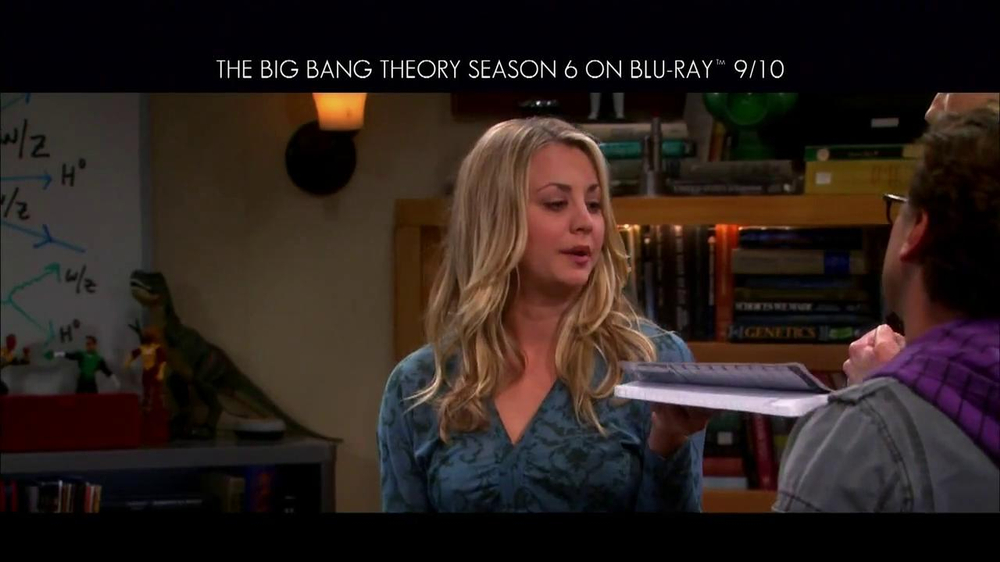 Big Bang Theory Season 6 Blu-ray Combo Pack TV Spot - Screenshot 8