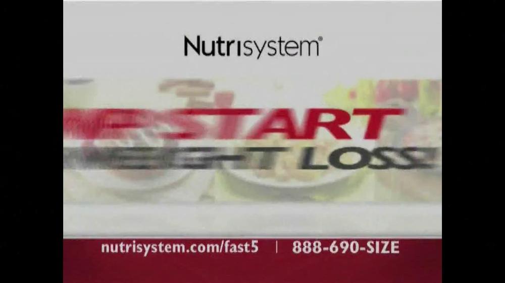 Nutrisystem Fast 5 TV Spot - Screenshot 1
