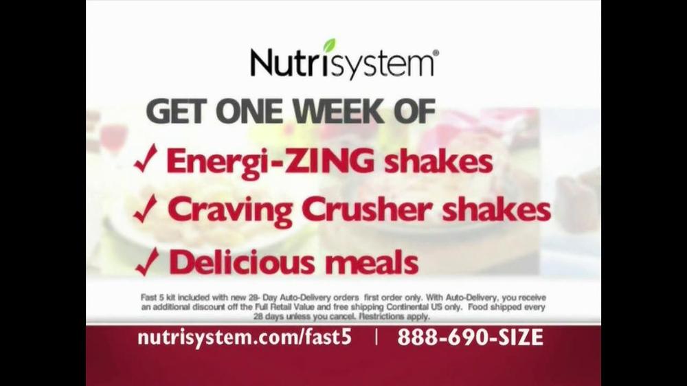 Nutrisystem Fast 5 TV Spot - Screenshot 9