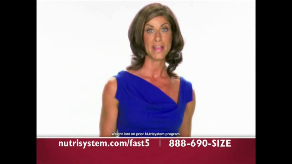 Nutrisystem Fast 5 TV Spot - Screenshot 2