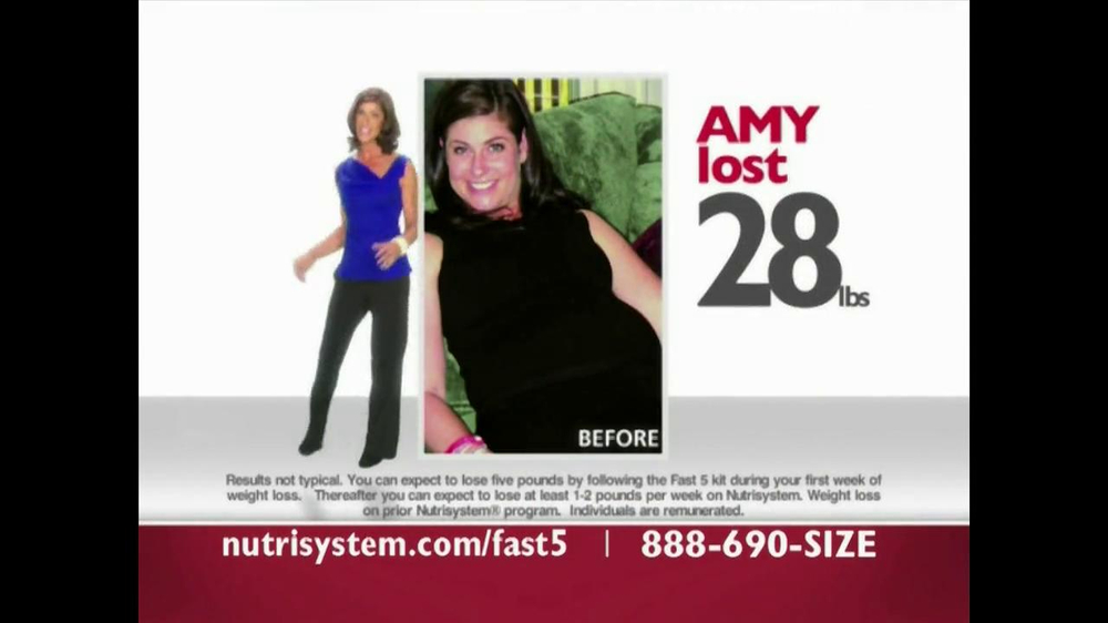 Nutrisystem Fast 5 TV Spot - Screenshot 3