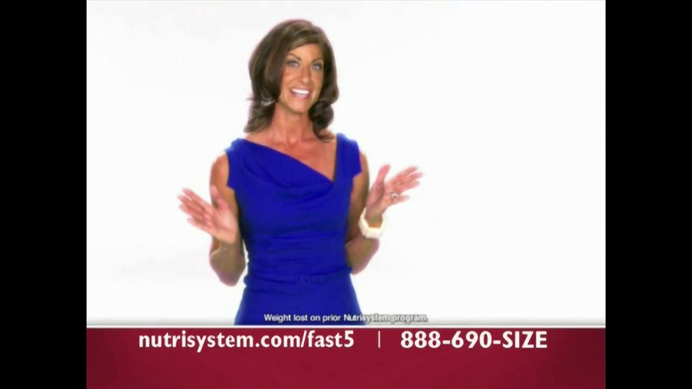 Nutrisystem Fast 5 TV Spot - Screenshot 4