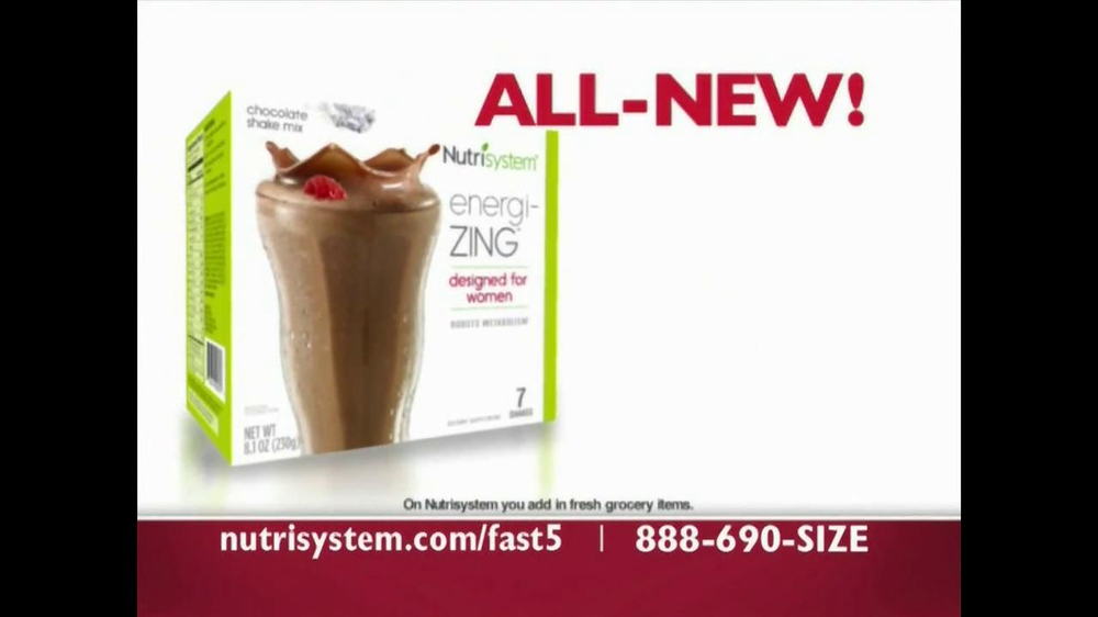 Nutrisystem Fast 5 TV Spot - Screenshot 5