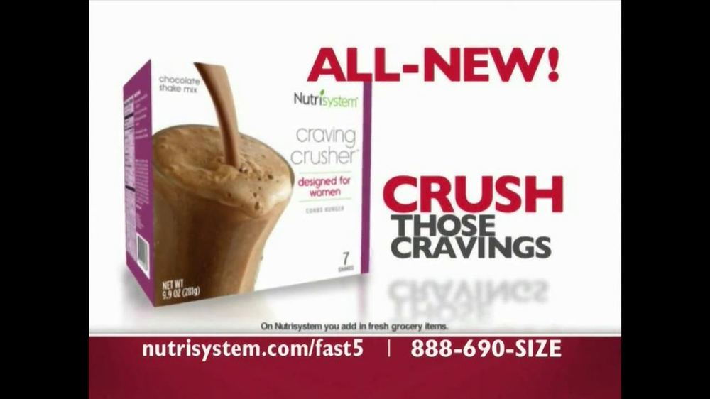 Nutrisystem Fast 5 TV Spot - Screenshot 6