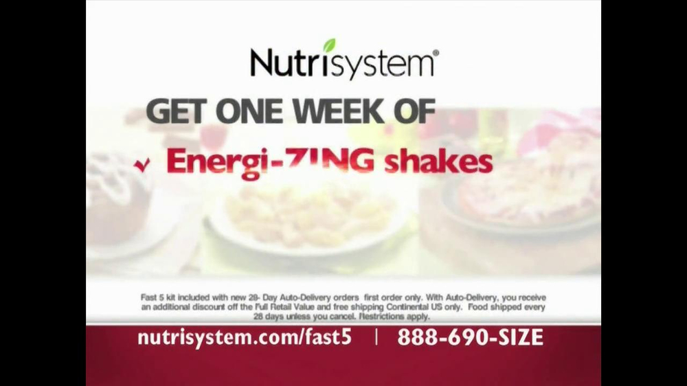 Nutrisystem Fast 5 TV Spot - Screenshot 8