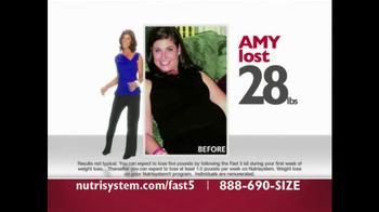 Nutrisystem Fast 5 TV Spot - Thumbnail 3