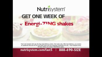 Nutrisystem Fast 5 TV Spot - Thumbnail 8