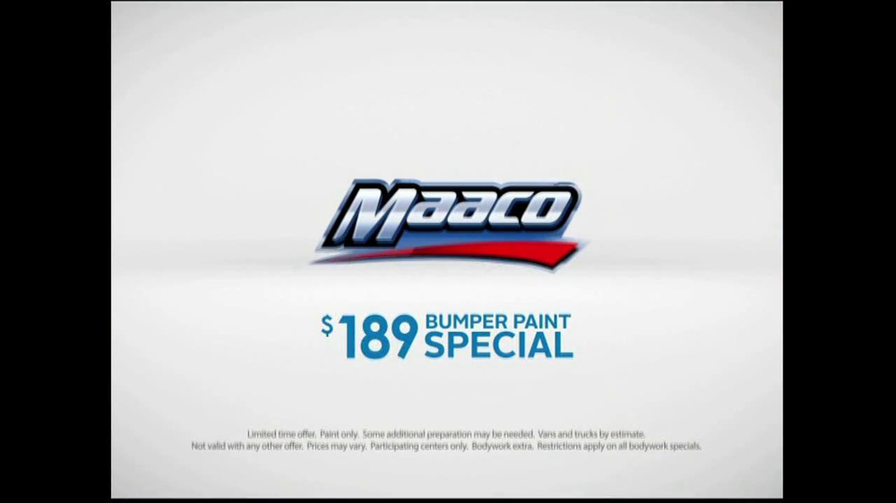 Maaco Bumper Paint Special TV Spot, 'Fall' - Screenshot 10