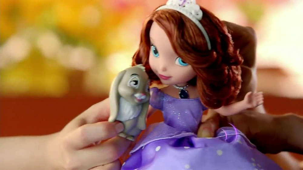 Sofia the First TV Commercial, 'Talking Sofia and Animal Friends ...