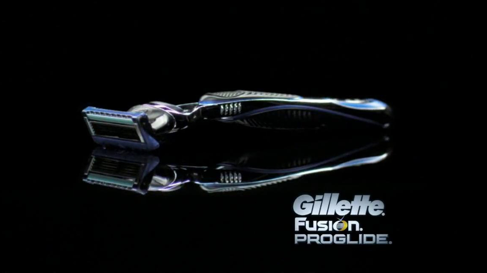 Gillette Fusion ProGlide TV Spot, 'High-Tech Gear' - Screenshot 7