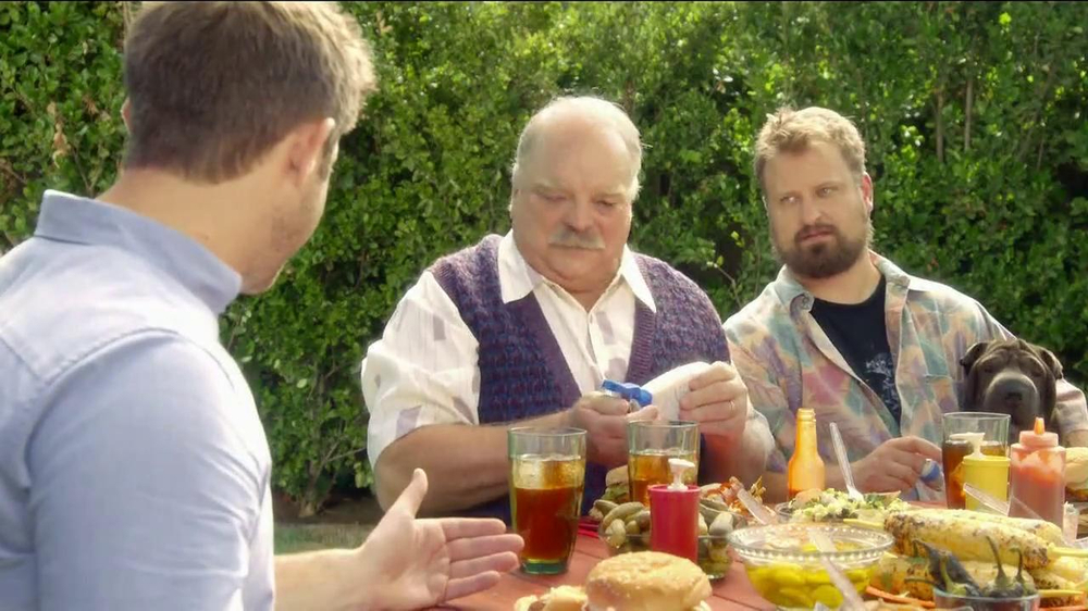 Pepcid Complete TV Spot, 'The Burns Family BBQ' Featuring Richard Riehle - Screenshot 4