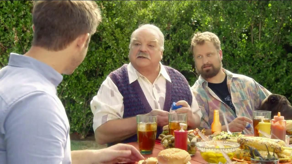 Pepcid Complete TV Spot, 'The Burns Family BBQ' Featuring Richard Riehle - Screenshot 5