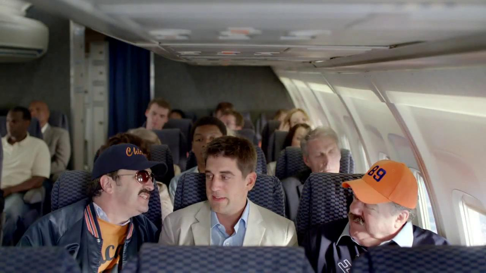 State Farm Discount Double Check TV Spot, 'Turbulence' Feat Aaron Rodgers - Screenshot 4