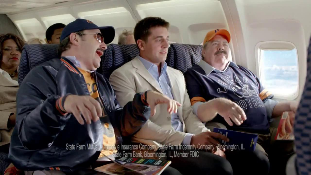 State Farm Discount Double Check TV Spot, 'Turbulence' Feat Aaron Rodgers - Screenshot 5