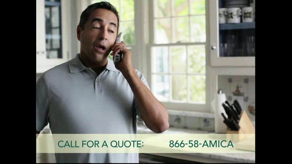 Amica TV Commercial, 'Auto Insurance' - iSpot.tv