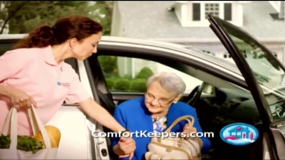 Comfort Keepers TV Spot, 'Use a Hand' - Screenshot 6