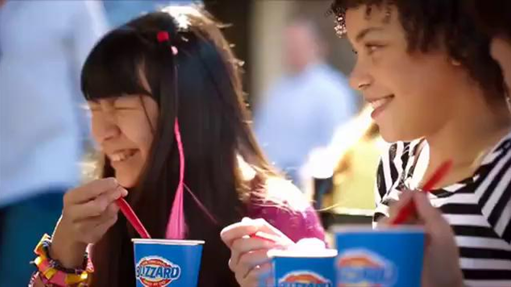 Dairy Queen Blizzards TV Spot, 'Buy One, Get One for 99 Cents' - Screenshot 1