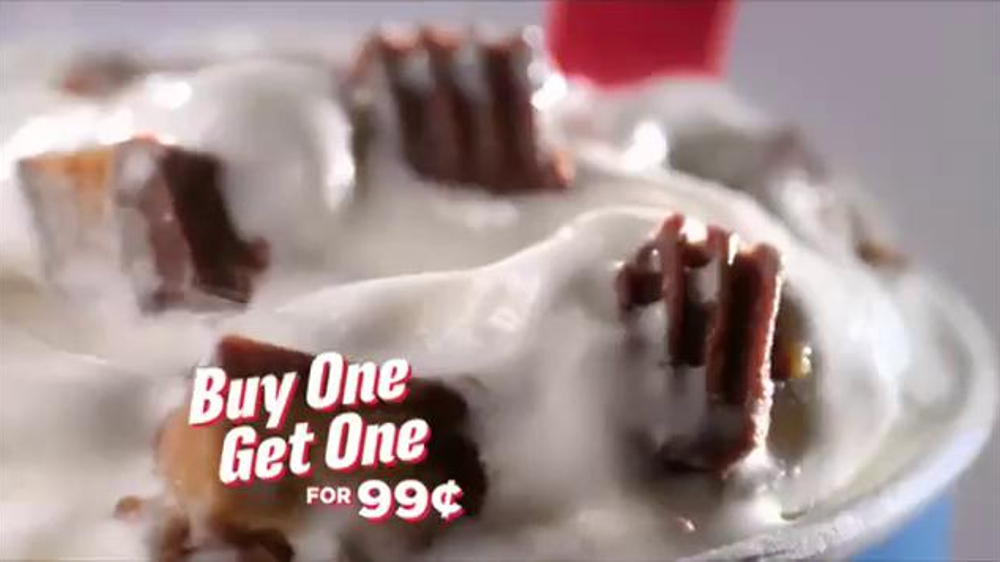 Dairy Queen Blizzards TV Spot, 'Buy One, Get One for 99 Cents' - Screenshot 7