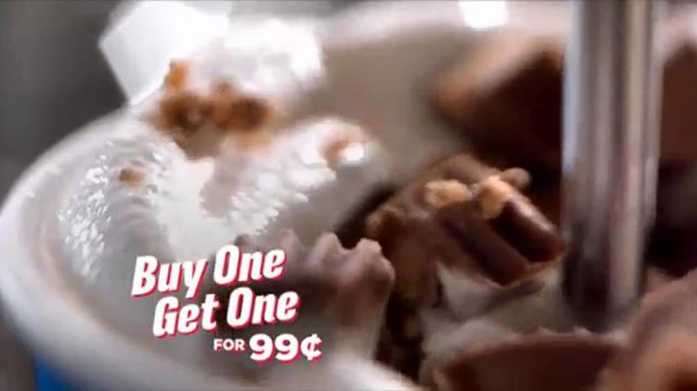Dairy Queen Blizzards TV Spot, 'Buy One, Get One for 99 Cents' - Screenshot 8