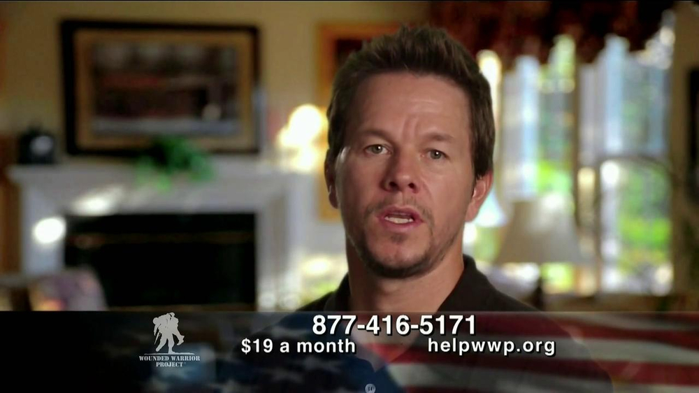 Wounded Warrier Project TV Spot, 'Home' Featuring Mark Wahlberg - Screenshot 6