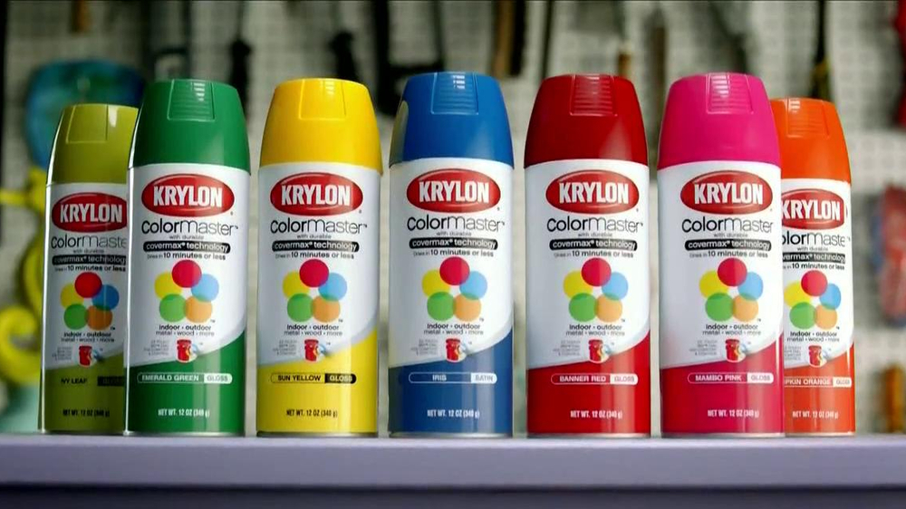 Krylon Color Master Tv Spot Superhero Ispot Tv